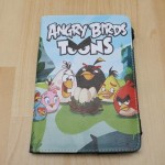 Leather Case Angry Birds Toons