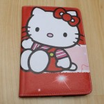 Leather Case Hello Kitty Merah