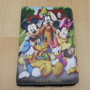 Leather Case Mickey & Friends