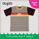 Kaos Anak – Little Moslem Stripe
