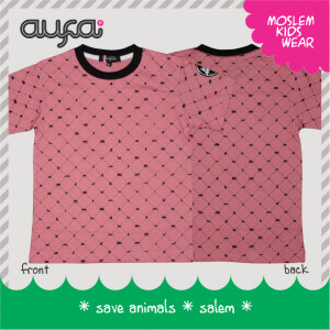 Kaos Anak – Save Animals